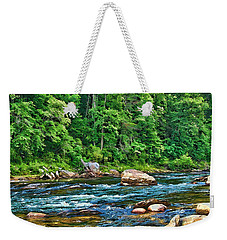Riverview Weekender Tote Bag by Kenny Francis