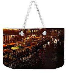 Riverwalk Night Weekender Tote Bag