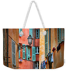 Riviera Alley Weekender Tote Bag by Inge Johnsson