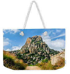 Road Into The Hills Weekender Tote Bag
