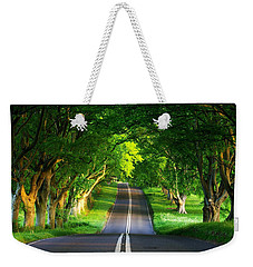 Weekender Tote Bag featuring the digital art Road Pictures by Marvin Blaine