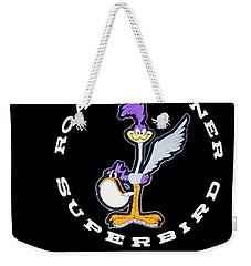 Road Runner Superbird Emblem Weekender Tote Bag by Jill Reger