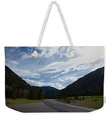 Road Through The Mountains Weekender Tote Bag