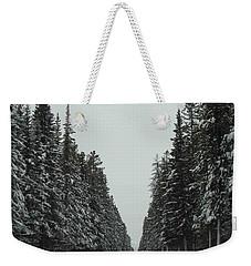 Road To Banff Weekender Tote Bag