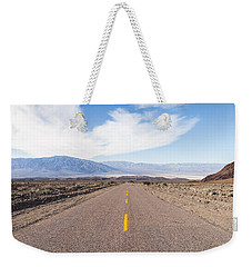 Road To Death Valley Weekender Tote Bag
