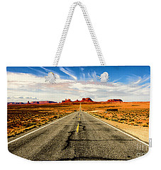 Road To Navajo Weekender Tote Bag