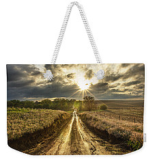 Road To Nowhere Weekender Tote Bag by Aaron J Groen