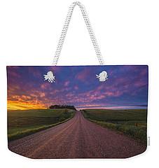 Road To Nowhere El Weekender Tote Bag