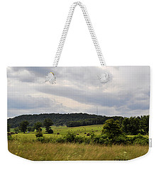 Weekender Tote Bag featuring the photograph Road Trip 2012 by Verana Stark