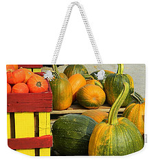 Weekender Tote Bag featuring the photograph Roadside Market by Jean Goodwin Brooks