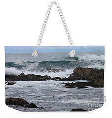 Roaring Sea Weekender Tote Bag