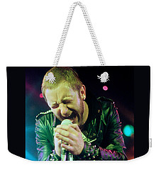Rob Halford Of Judas Priest Without Flames Effect- Warfield Theater During British Steel-unreleased  Weekender Tote Bag