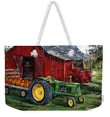 Rob Smith's Tractor Weekender Tote Bag