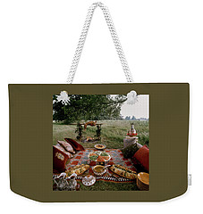 Robert Carrier's Moroccan Picnic In A Field Weekender Tote Bag