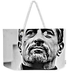 Robert De Niro Portrait Weekender Tote Bag