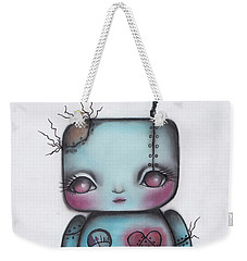 Robot Weekender Tote Bag by Abril Andrade Griffith