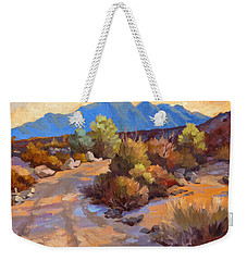 Rock Cairn At La Quinta Cove Weekender Tote Bag by Diane McClary