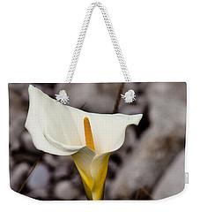 Rock Calla Lily Weekender Tote Bag