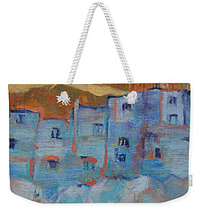 Rock City Abstract Weekender Tote Bag