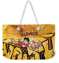 Rock Climbing Cartoon Weekender Tote Bag