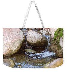 Weekender Tote Bag featuring the photograph Rock Creek by Kerri Mortenson