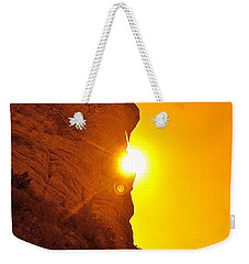 Rock Eclipse  Weekender Tote Bag