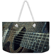 Rock Guitar Weekender Tote Bag by Photographic Arts And Design Studio
