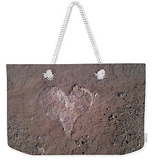 Rock Heart Weekender Tote Bag