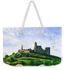 Rock Of Cashel Ireland Weekender Tote Bag