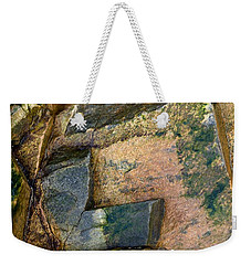 Rock On Weekender Tote Bag by Liz  Alderdice