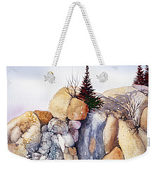 Rock Patterns Turnagain Weekender Tote Bag