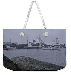 Weekender Tote Bag featuring the photograph Rockland Me by Daniel Hebard