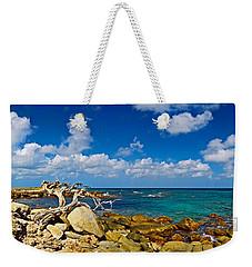 Rocks At The Coast, Aruba Weekender Tote Bag