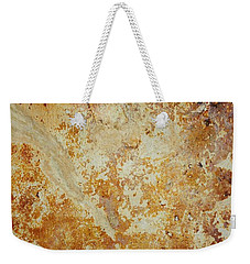 Weekender Tote Bag featuring the photograph Rockscape 4 by Linda Bailey