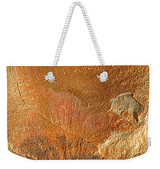 Weekender Tote Bag featuring the photograph Rockscape 6 by Linda Bailey