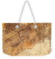 Weekender Tote Bag featuring the photograph Rockscape 7 by Linda Bailey