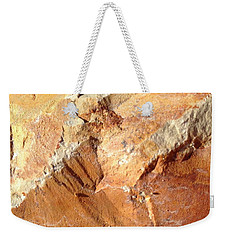 Weekender Tote Bag featuring the photograph Rockscape 8 by Linda Bailey