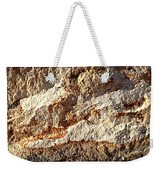 Weekender Tote Bag featuring the photograph Rockscape 9 by Linda Bailey