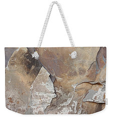Weekender Tote Bag featuring the photograph Rocky Edges by Jason Williamson