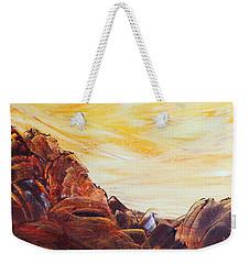 Rocky Landscape II Weekender Tote Bag