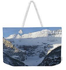 Rocky Mountain Blue Weekender Tote Bag