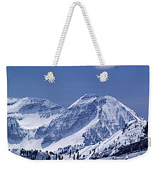 Rocky Mountain High Weekender Tote Bag by Bill Gallagher