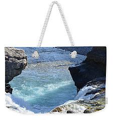 Elbow Falls Water  1.1 Weekender Tote Bag