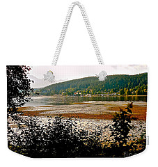 Weekender Tote Bag featuring the photograph Rocky Point Port Moody by Sher Nasser