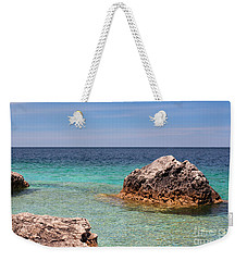 Rocky Shoals Of Tobermory Weekender Tote Bag