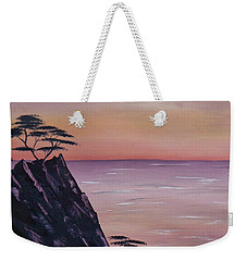 Rocky Sunset Weekender Tote Bag by Barbara St Jean