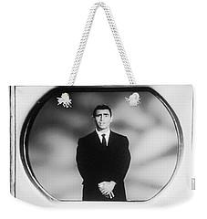Rod Serling On T V Weekender Tote Bag