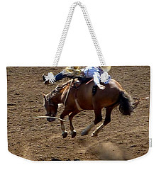 Rodeo Time Bucking Bronco 2 Weekender Tote Bag