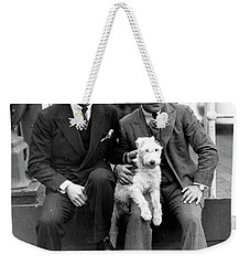 Weekender Tote Bag featuring the photograph Rodgers And Hart by Granger