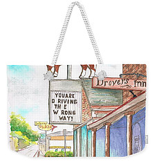 Rod's Steak House In Route 66 - Williams - Arizona Weekender Tote Bag
